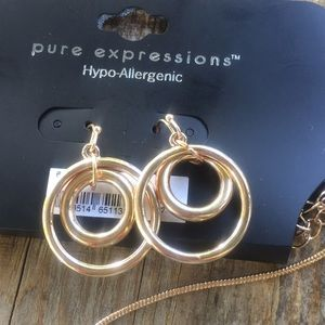 pure expressions Jewelry - Pure expression Necklace and earrings